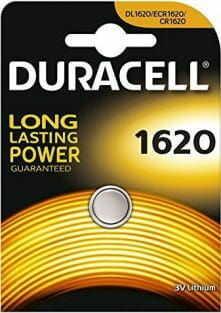 bateria litowa mini Duracell CR1620