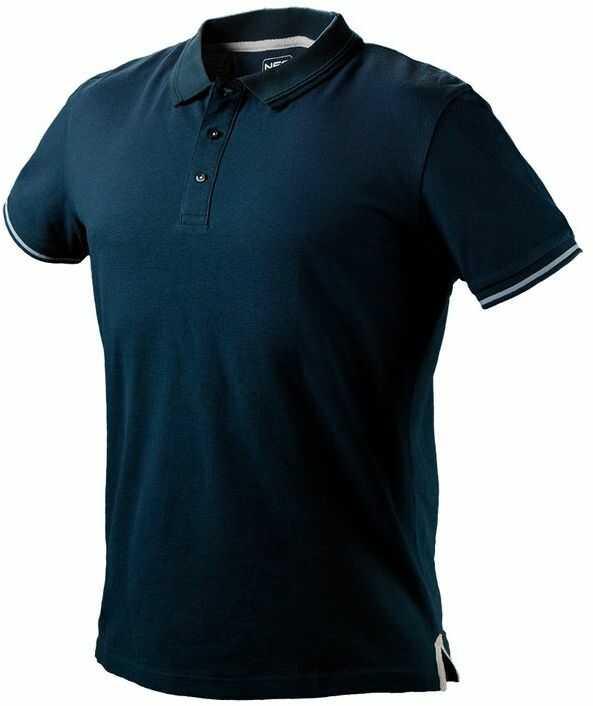 Koszulka polo DENIM rozmiar XXXL 81-606-XXXL
