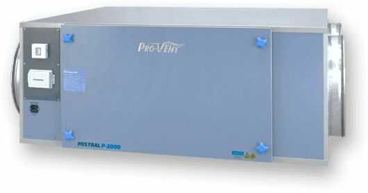 Rekuperator PRO-VENT MISTRAL P 3000 EC