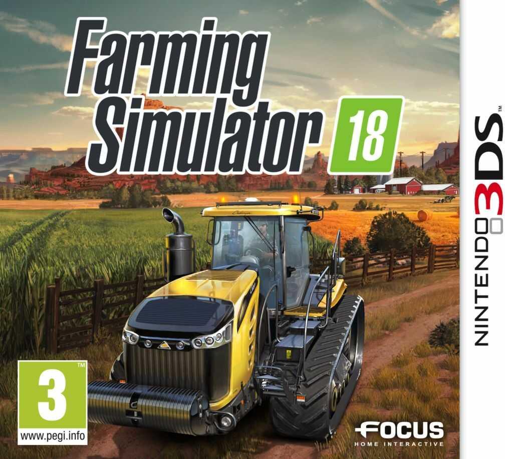 Gra Farming Simulator 2018 (Nintendo 3DS)