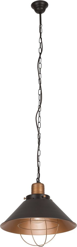Lampa wisząca Garret 6443 Nowodvorski Lighting stalowa oprawa w kolorze czekolady