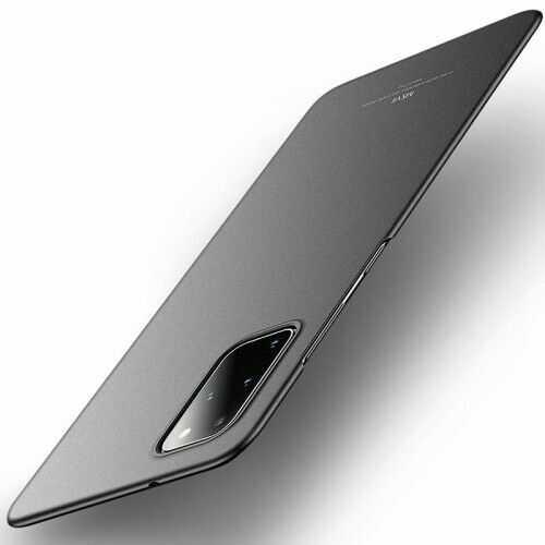 Etui MSVII Samsung Galaxy S20 Plus, matowe czarne