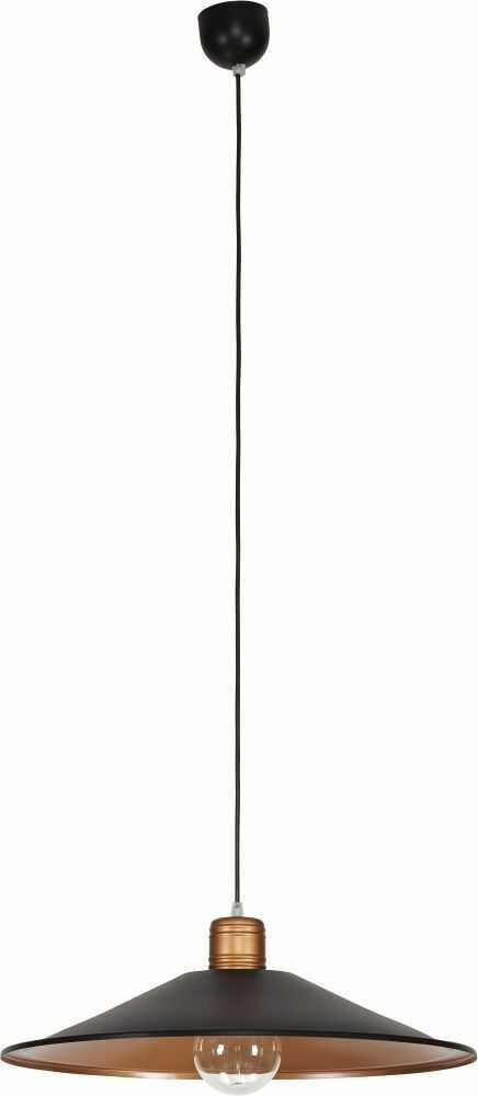 Lampa wisząca Garret 6444 Nowodvorski Lighting stalowa oprawa w kolorze czekolady
