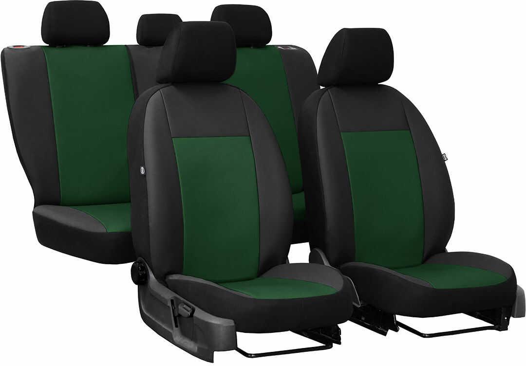 Pokrowce samochodowe do Ford Fusion van, Pelle, kolor zielony