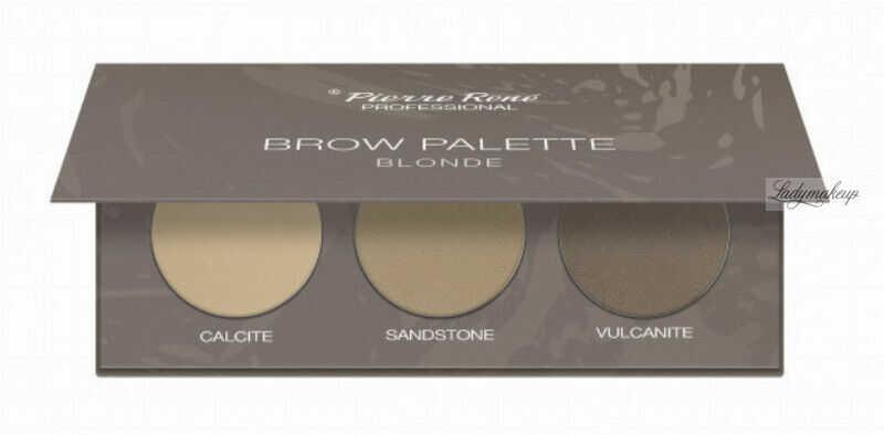 Pierre René - Brow Palette - Paleta cieni do brwi - 01 Blonde