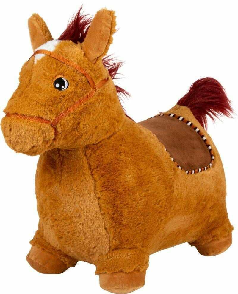 Skaczący pluszowy Koń 11709-Small Foot, skoczek dla dzieci