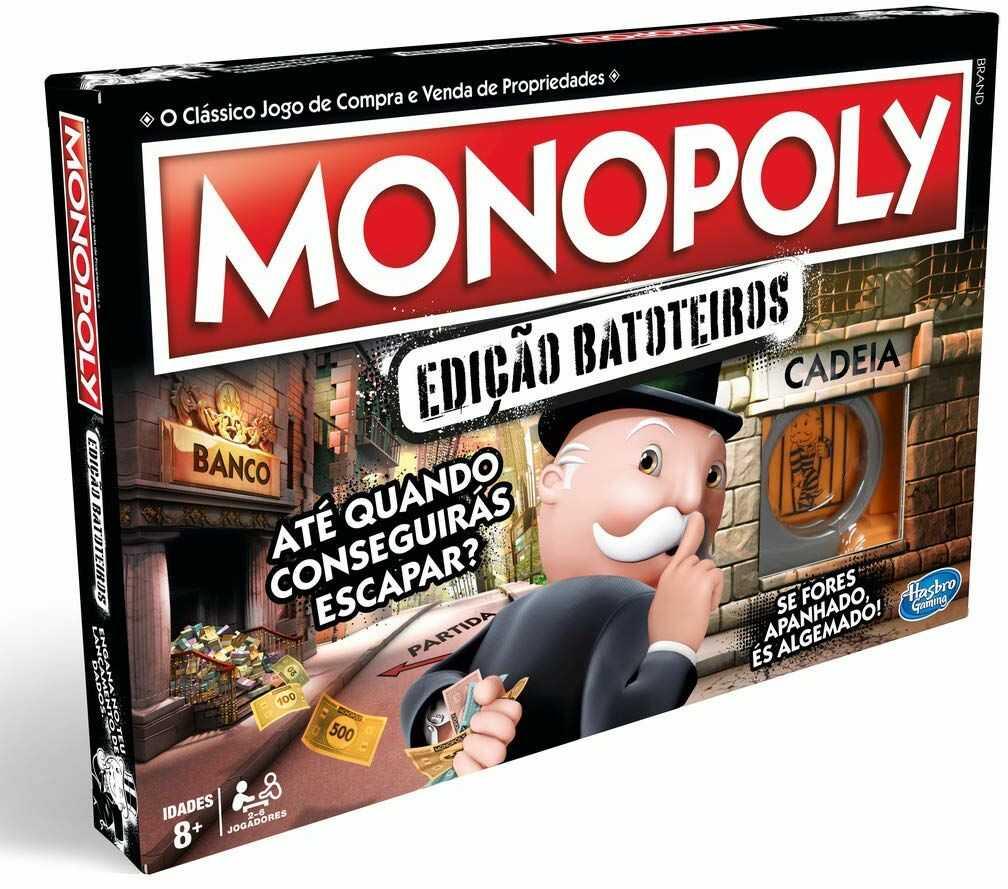 Hasbro Monopoly Sztaluga do wanny, wielokolorowa, wersja portugalska