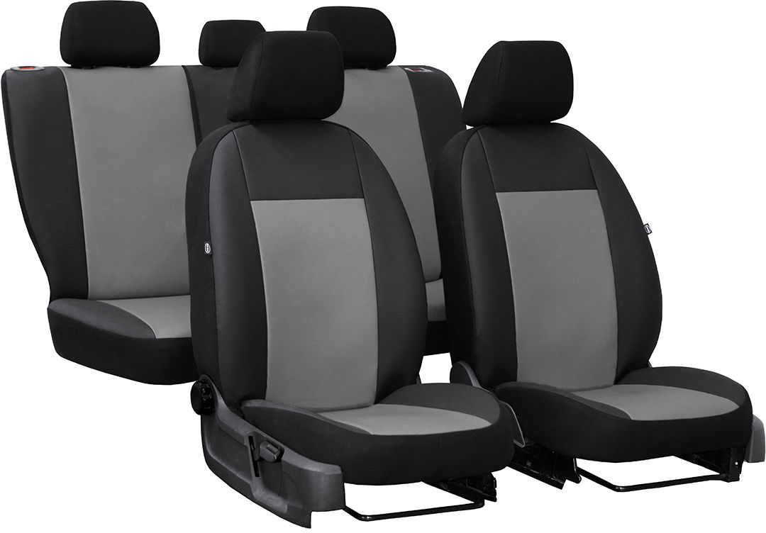 Pokrowce samochodowe do Ford Fusion van, Pelle, kolor szary