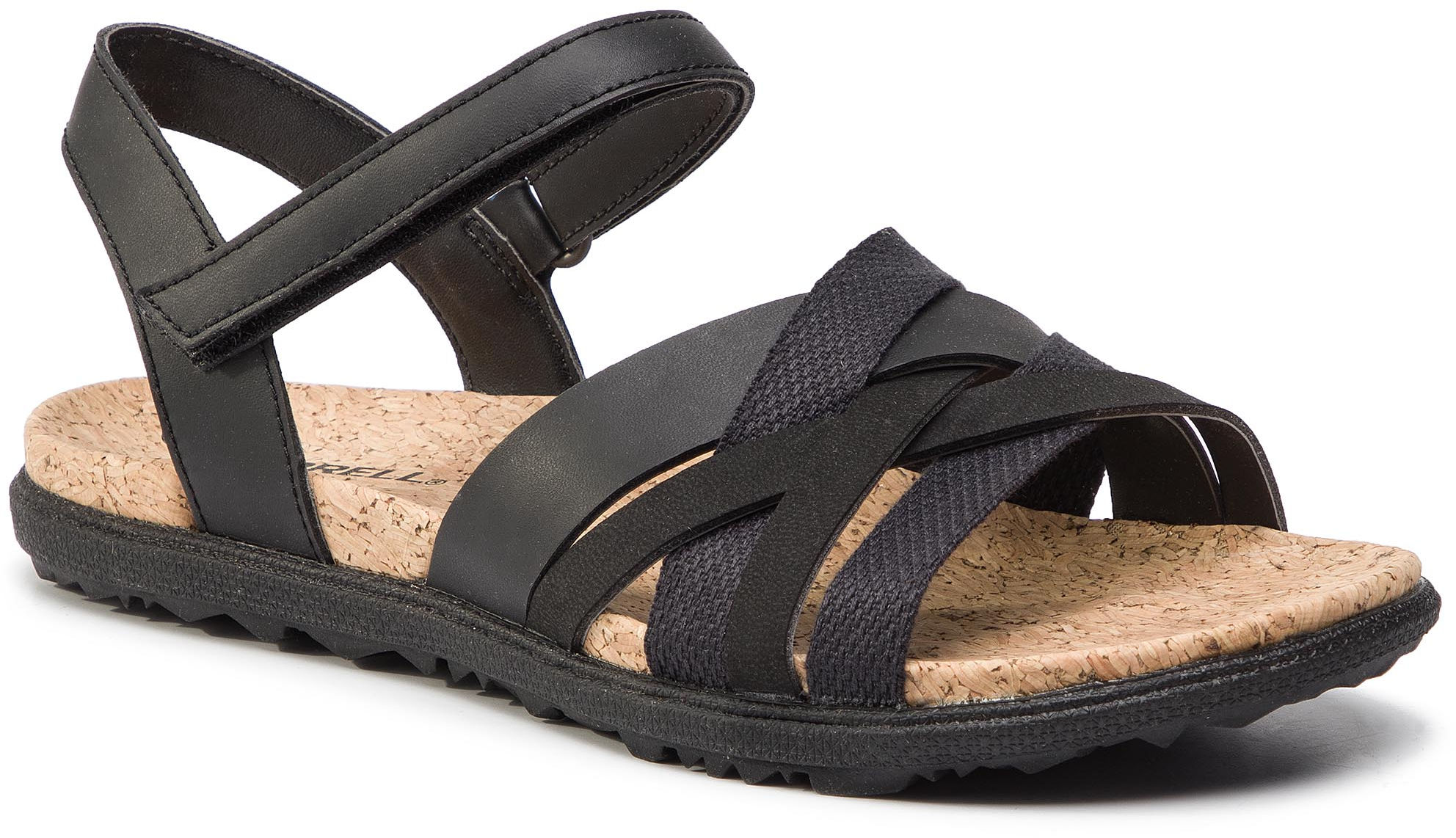 Sandały MERRELL - Around Town Arin Backstrap J97454 Black
