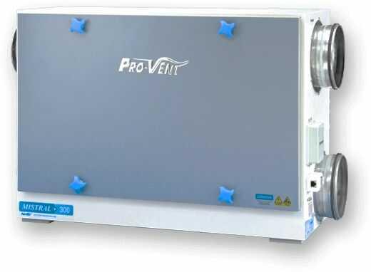 Rekuperator PRO-VENT MISTRAL 400 EC
