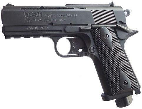 Wiatrówka Colt 1911 na Śruty BB/BBs 4,46mm/Co2.