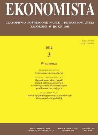 Ekonomista 2012 nr 3 - Ebook.