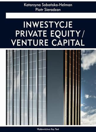 Inwestycje private equity/venture capital - Ebook.