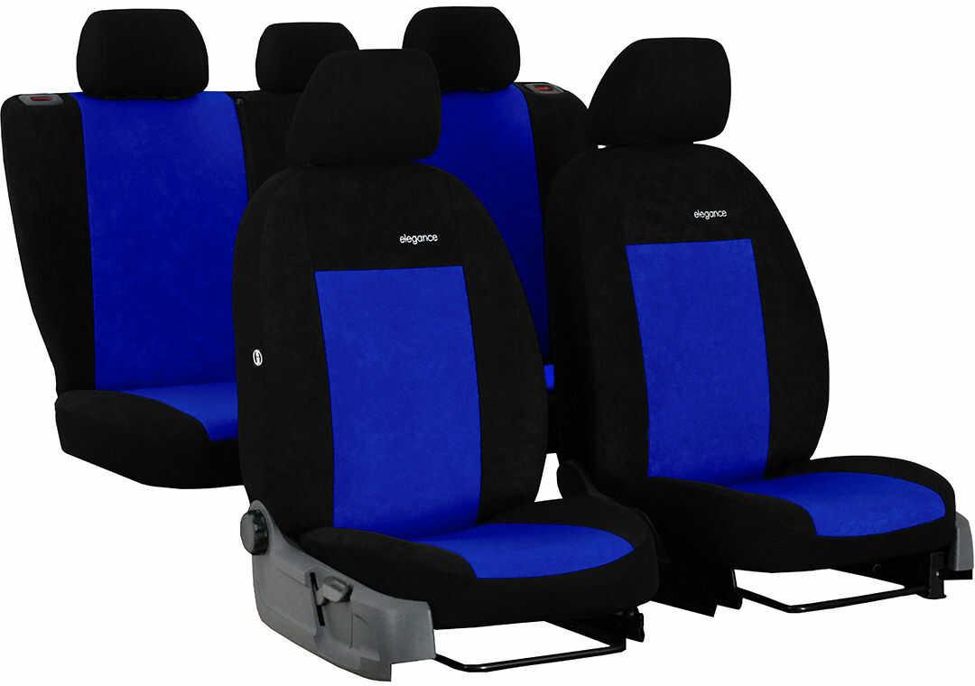 Pokrowce samochodowe do Ford Mustang coupe, Elegance, kolor niebieski
