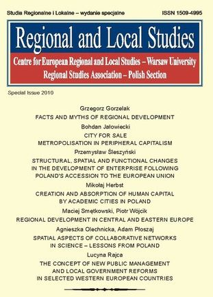 Regional and Local Studies, special issue 2010 - Ebook.