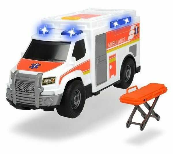 Dickie Action Series Ambulans światło i dźwięk 3306002