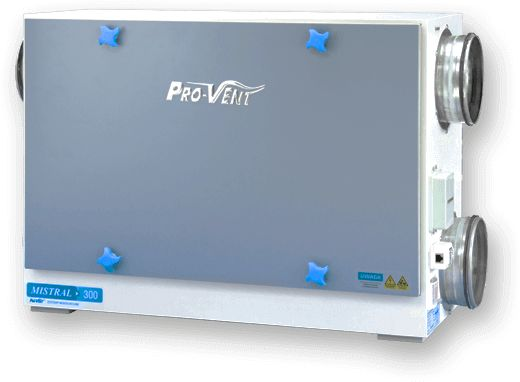 Rekuperator PRO-VENT MISTRAL 650 EC