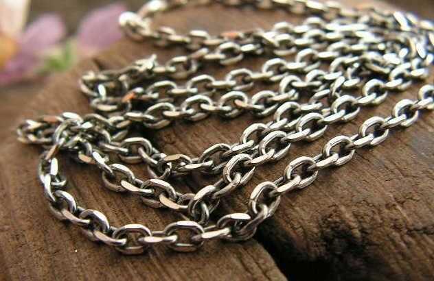 Antica - srebrny łańcuszek 60cm