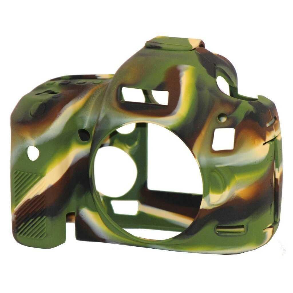 Osłona silikonowa easyCover do aparatów Canon EOS 5D Mark II kamuflaż