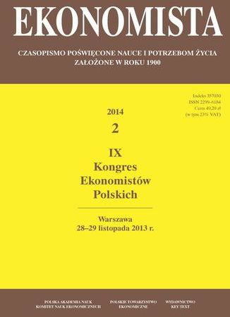 Ekonomista 2014 nr 2 - Ebook.