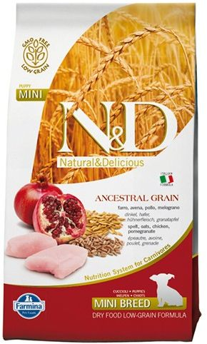 N&D Ancestral Grain Chicken&Pomegranate Puppy Mini Dog