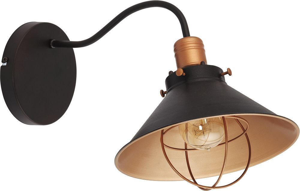 Kinkiet Garret 6442 Nowodvorski Lighting oprawa ścienna w kolorze czekoladowo-miedzianym
