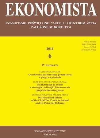 Ekonomista 2011 nr 6 - Ebook.