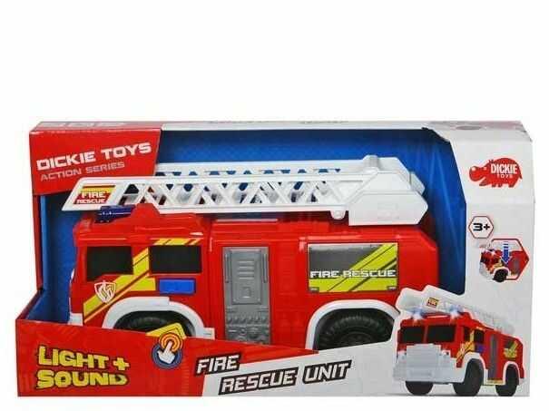 Dickie Action Series Straż pożarna światło i dźwięk 3306000