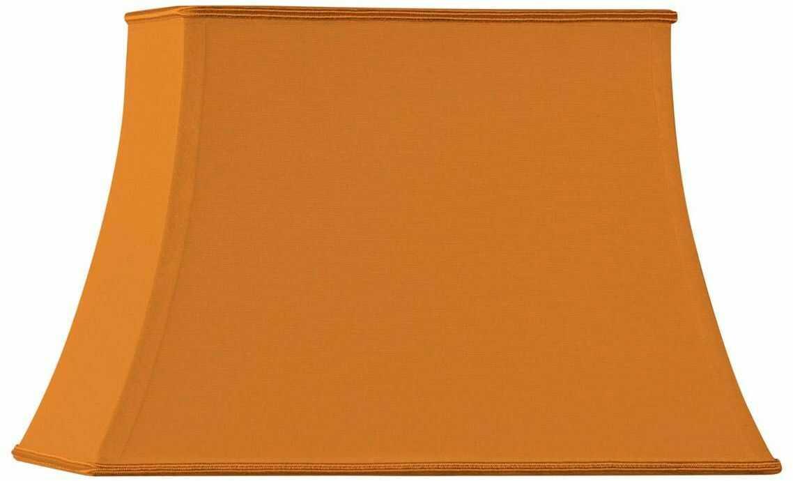 Pagode prostokątny klosz średnica 30 x 20/20 x 12/22 cm pomarańczowy