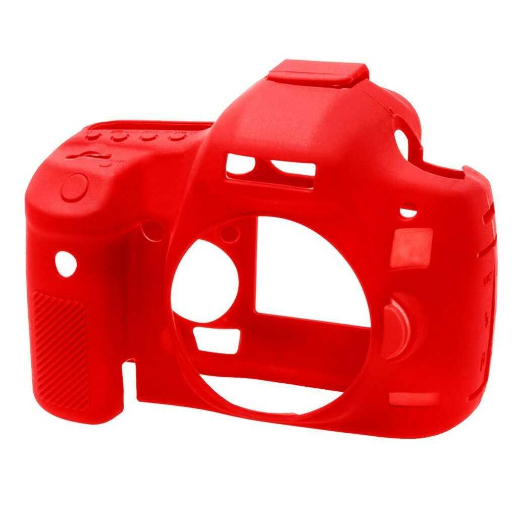 Osłona silikonowa easyCover do aparatów Canon EOS 5D Mark III/ 5Ds/ 5DsR czerwona
