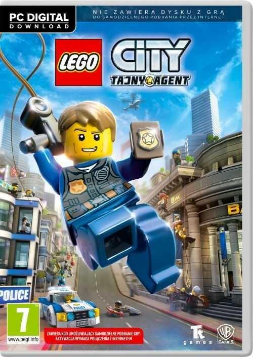 LEGO City: Tajny Agent (PC) PL klucz Steam