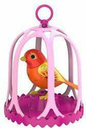 Silverlit DigiBirds - Śpiewający ptaszek Amber z ramką 88023