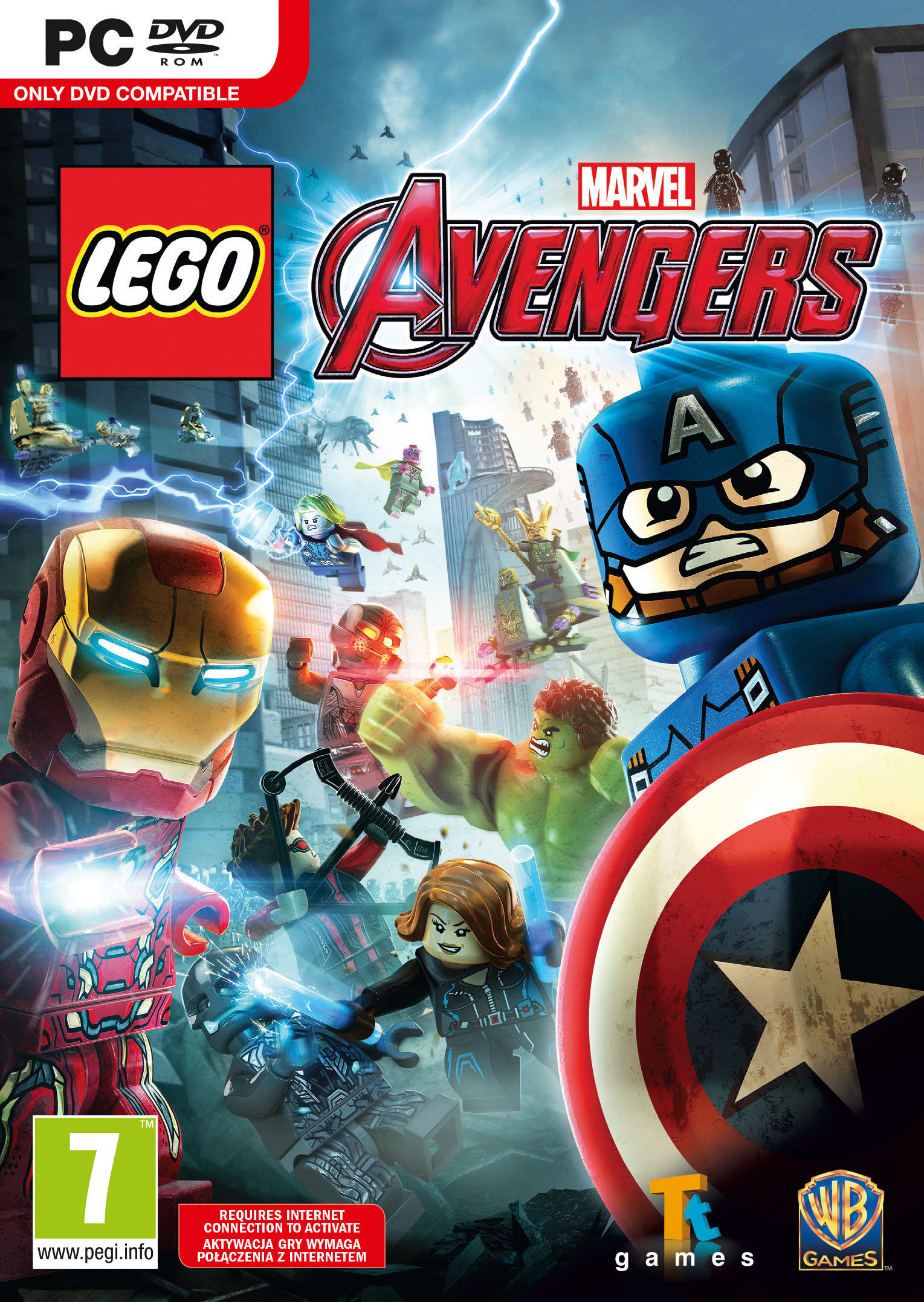 LEGO Marvel Avengers Deluxe (PC) klucz Steam