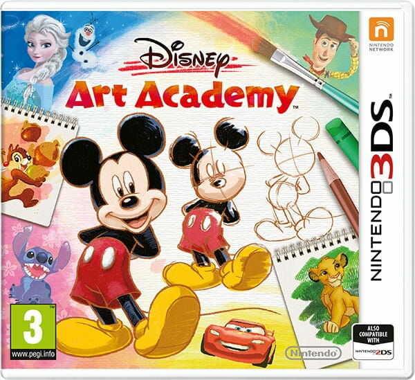Gra Disney Art Academy (Nintendo 3DS)
