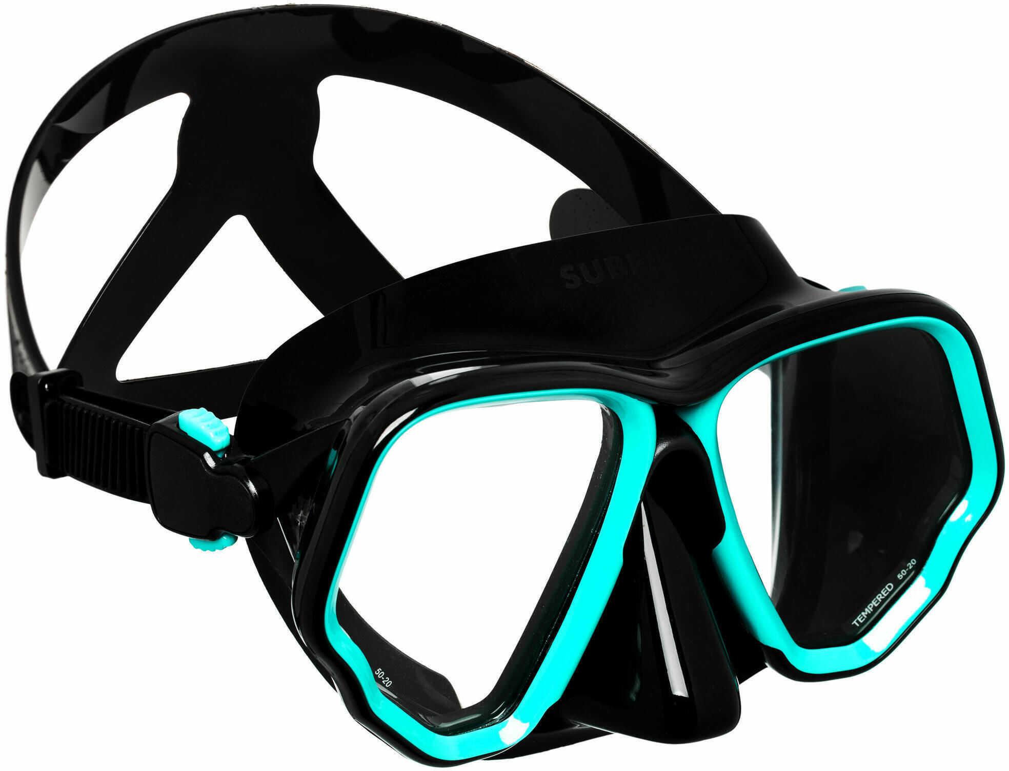 Maska do nurkowania SCD 500 Bi dwuszybowa V2