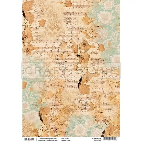 CBRP025 La Traviata Collection - papier ryżowy A4