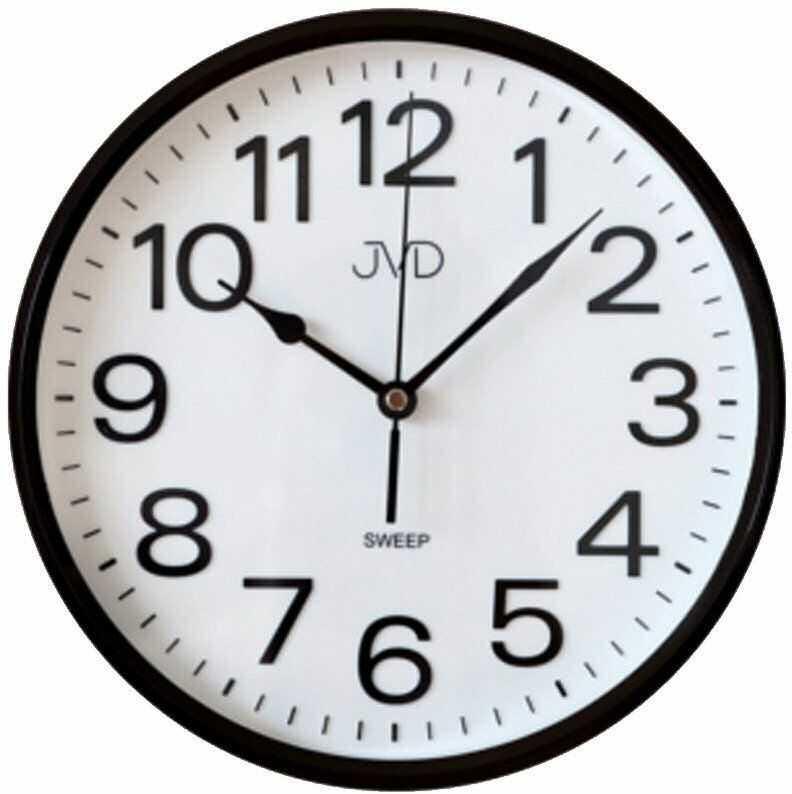 Zegar ścienny JVD HP683.5 Cichy mechanizm
