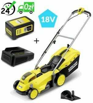 LMO 18-33 Battery Kosiarka akumulatorowa Kärcher zestaw z akumulatorem i ładowarką +ostrze +aku 5Ah DORADZTWO => 794037600, GWARANCJA 2 LATA, SPOKÓJ I BEZPIECZEŃSTWO