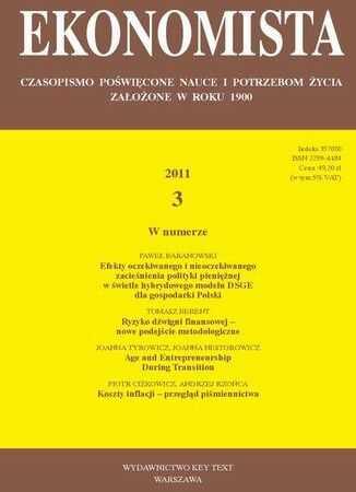 Ekonomista 2011 nr 3 - Ebook.