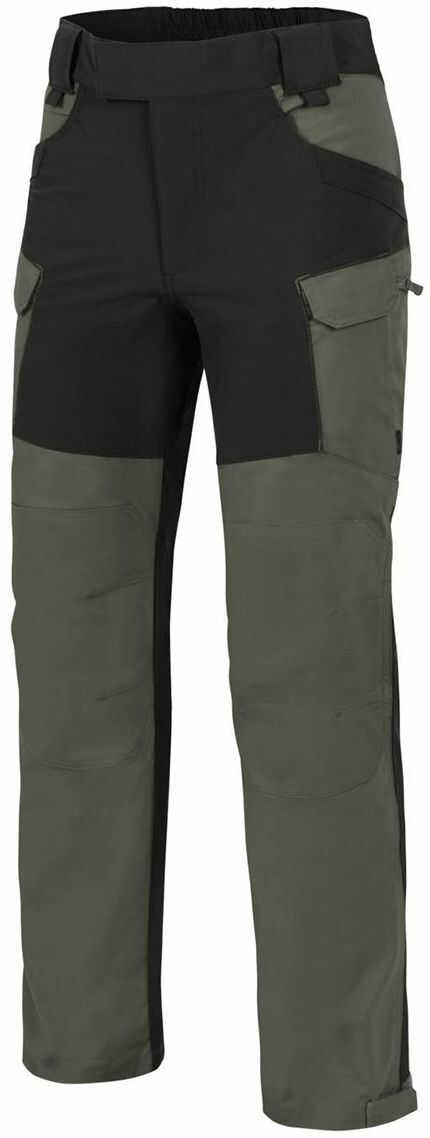 Spodnie Helikon Hybrid Outback Taiga Green/Black (SP-HOP-DC-0901A) H