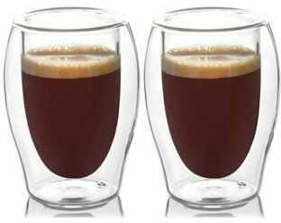 Zestaw szklanek do espresso DUKA LISE 45 ml podwójne dno szkło