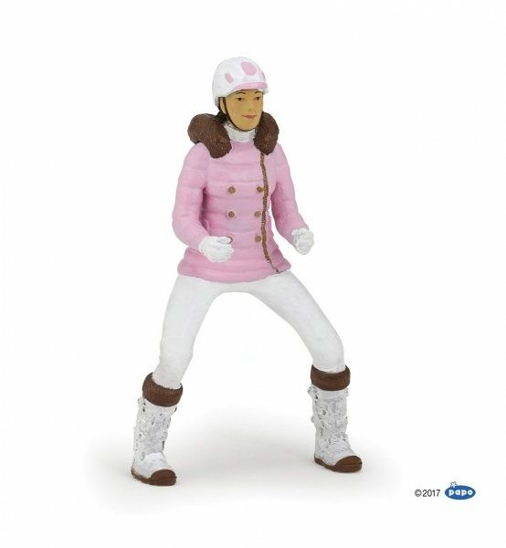 Figurka WINTER RIDING GIRL - PAPO