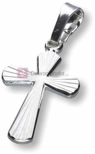 Krzyżyk srebrny - próba 925, 1,2g