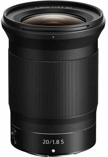Obiektyw NIKKOR Z 20mm f/1.8 S