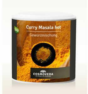 Ajuwerdyjska pikantna przyprawa Curry Masala ORGANICZNA 80g Cosmoveda