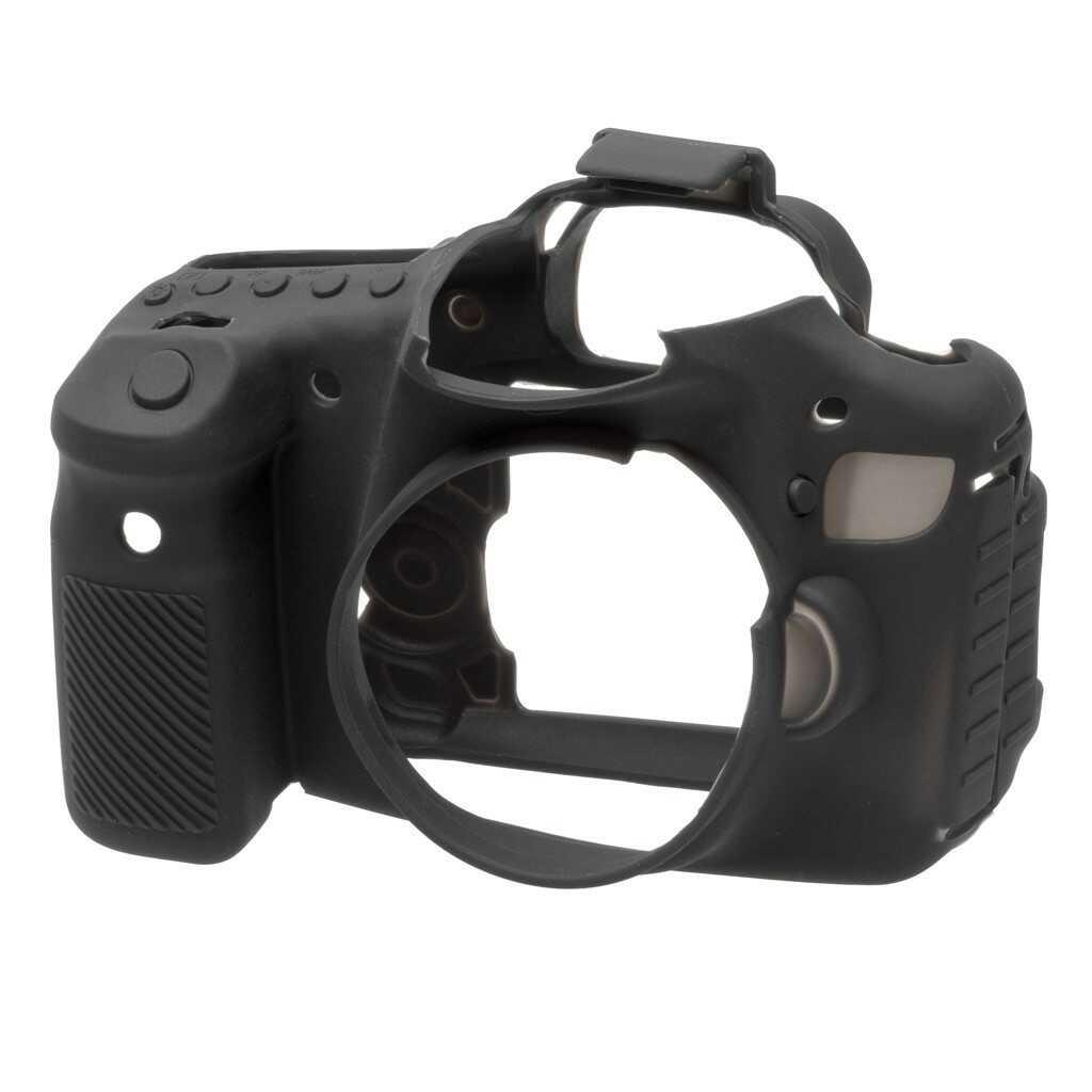 Osłona silikonowa easyCover do aparatów Canon EOS 60D czarna - WYSYŁKA W 24H