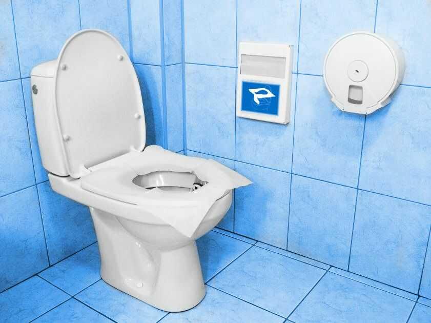 Jednorazowe higieniczne nakładki na sedes