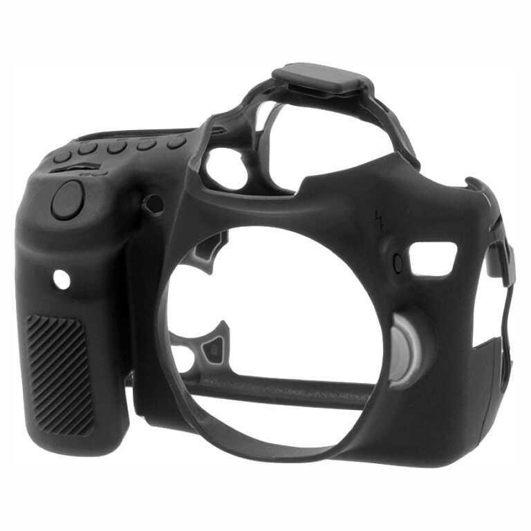 Osłona silikonowa easyCover do aparatów Canon EOS 70D czarna
