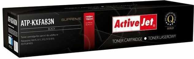 Wyprzedaż Toner zamiennik Activejet ATP-KXFA83N do Panasonic KX-FL511 KX-FL512 KX-FL513 KX-FL613 KX-FLM653 2 500 str. czarny black