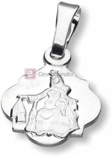 Medalik srebrny - Szkaplerz, próba 925, 1,2g